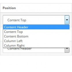 Extra Position - Content header