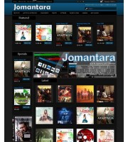 JOMANTARA - Dark and Responsive Opencart Theme